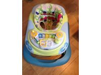 Chicco Baby sit in walker with music