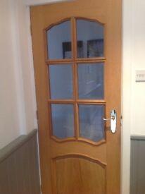 Internal wood doors VGC three years old
