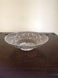 Cut Glass Fruit Bowl