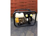 Loncin 6.5hp portable petrol generator. 4 stroke. 2x 240v plugs and 2x 110v plugs. Good order.