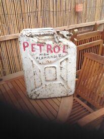 Petrol jerrycan