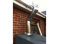oil fire flu to suit a warmflo boiler