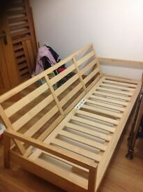 Bed settee double bed
