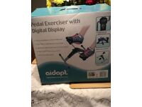 Pedal exerciser with digital display. Boxed & new.
