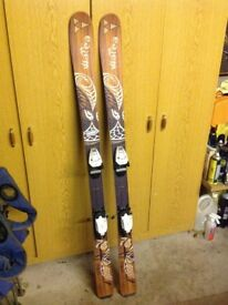 """Fisher skis,plus boots poles and bag for sale excellent buy"""""""