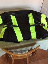 Safe jacket for scooter