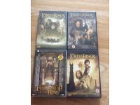 Lord of the rings dvd bundle