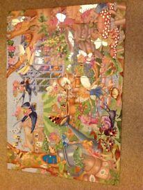 Galt sparkle puzzle fairy garden