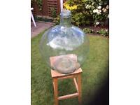 Glass Carboy ideal for bottle garden