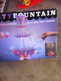 Illuminated party fountain