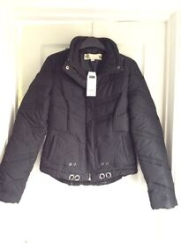 Next Ladies Black Puffa Jacket Brand New With Tags Size 8
