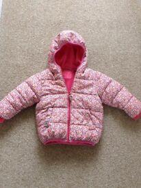 girls NEXT coat 12-18m