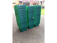 Removal Crate Hire Rental Moving Removal Boxes Cardboard Box Alternative 65L