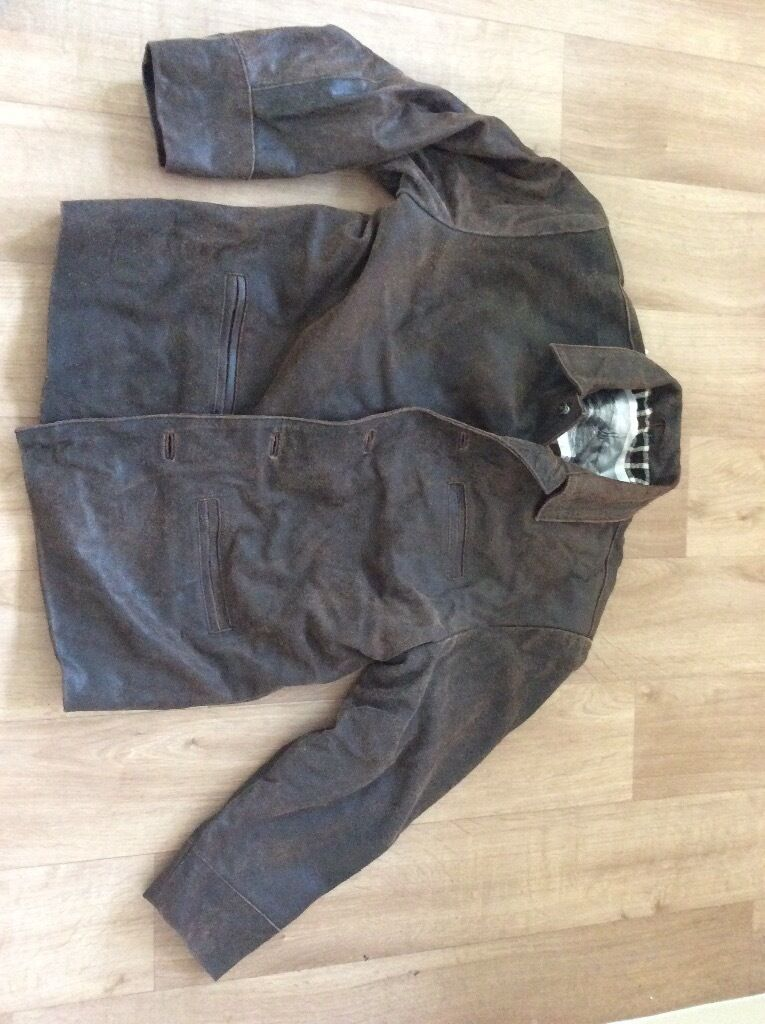 Brown leather jacket Quilted heaven winter largein Billingham, County DurhamGumtree - Used but in excellent condition. This is a size large IPA dont I would class it as cracked brown leather