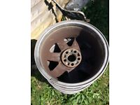 Old car wheels, suitable for using as mini bonfire pits