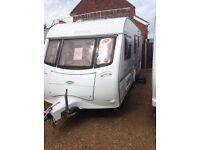 Coachman Amara 520/4 2001 4 berth with motor mover and leisure battery