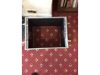 10 U Rack case - butterfly locks - great condition