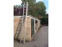 Youngman Extending Ladders. Extend to 19ft. Some paint marks. Fully safe.