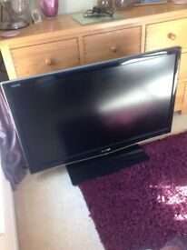 """48"""" aquos television by sharp"""