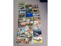 Twenty eight complete Brooke Bond tea card albums