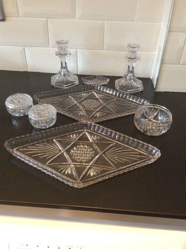 2 Vintage Glass Vanity Sets For Bedroom In Cadishead Manchester Gumtree