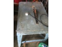 Table saw working condition