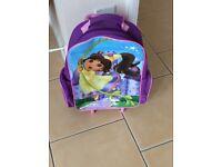 Dora wheeled child's suitcase