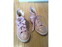 Next girls pale pink night tops size 13