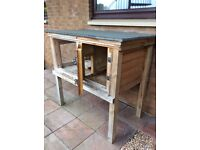 Rabbit or Guinea Pigs Hutch : This is a fantastic home for either Rabbits or Guinea Pigs Hand built