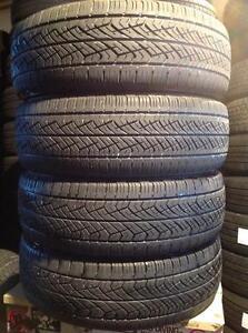 4 pneus d'été 225/65 r16 Yokohama avid.   140$