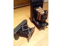 Antiques vintage film cameras