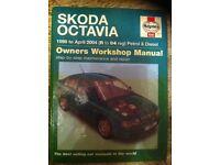 Haynes Manual For Skoda Octavia 98-04