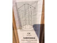 Victoria plumb corner shower tray