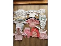 Baby Girl Clothes Bundle - Newborn/First Size