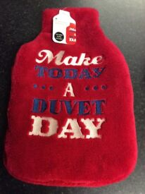 REDUCED ** Only 2 x Hot Water Bottles left (£5 each) Brand new