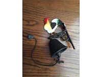 Cast Iron Rooster Bell