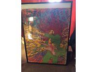 Jimi Hendrix Explosion 1968 poster Martin Sharp Big O