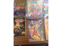 Mabel and DC comics collection