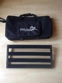 Palmer electric guitar pedalboard for BOSS MXR EHX pedals