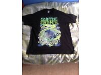 Suicide Silence band merch t-shirt size mens XL