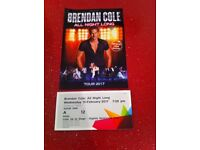1x ticket for Strictly's Brendan Cole: All Night Long