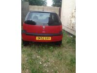 VAUXHALL CORSA (LIFE) 2002 (REG 52 GXV) for parts/repairs
