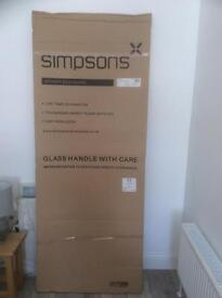 Simpsons Classic Shower Side Panel 760mm model 6118