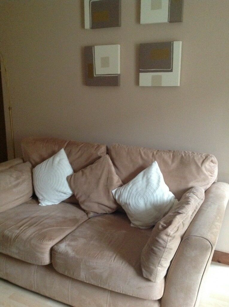 2 x 2 seater sofa for sale