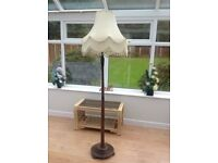 Retro Standard Lamp with Shade