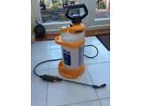 Hozelock hand pump,suitable for watering plants,weedkiller,quick car wash