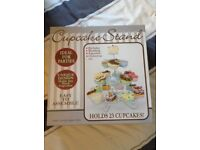 Cupcake stand, holds 23 cupcakes