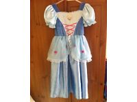Reversible Cinderella dress size 7-8 years
