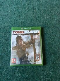 Tomb Raider Definitive Edition Xbox One - Brand New