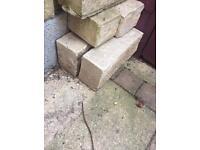 5 Cotswold stone effect blocks